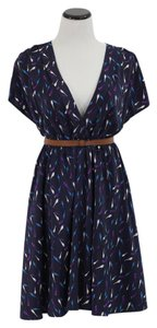 Pinkyotto short dress Blue bird Print on Tradesy