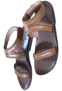 Calleen Cordero Tan/Whiskey Sandals