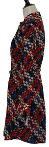 Trina Turk short dress Red & Blue on Tradesy