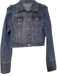 Other H&g Cropped Denim Style #2186 blue Womens Jean Jacket