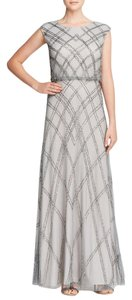 Adrianna Papell Gown Cap Dress