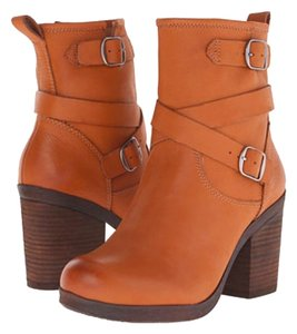 Lucky Brand Leather Bootie Belted Boot Aztec Boots