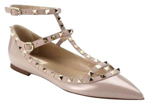 50646bd2925f Added to Shopping Bag. Valentino Rockstud T Strap Pink Size 40 Nude Pumps