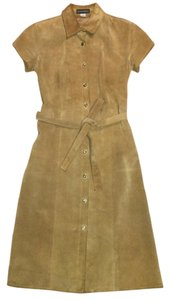 Banana Republic short dress Camel on Tradesy