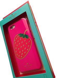 Kate Spade Nwt KS hardshell embellished Berry case for iPhone 6 and 6s