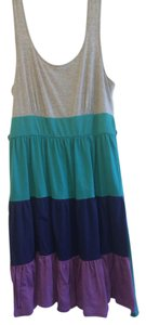 Pure Energy short dress Gray and multicolor Cute Affordable on Tradesy