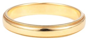Tiffany & Co. Tiffany & Co. 18K Yellow Gold Milgrain Ring