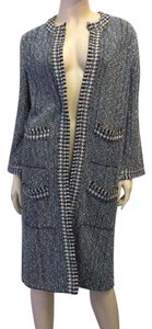 Chanel Cashmere Grey + Tweed Jacket
