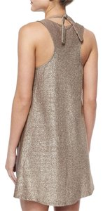 Red Carter Glitter-Back Knit Coverup