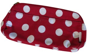 Burt's Bees Polka dot cosmetic pouch