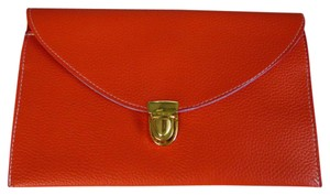 Envelope Purse orange Clutch