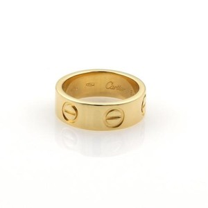 Cartier Cartier Love 18k Yellow Gold 5.5mm Band Ring Eu 46-us