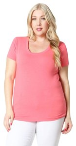 Zenana Outfitter T Shirt Coral
