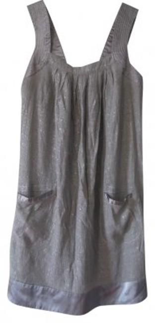 Preload https://item2.tradesy.com/images/forever-21-silver-metallic-sundress-party-above-knee-short-casual-dress-size-12-l-186981-0-0.jpg?width=400&height=650
