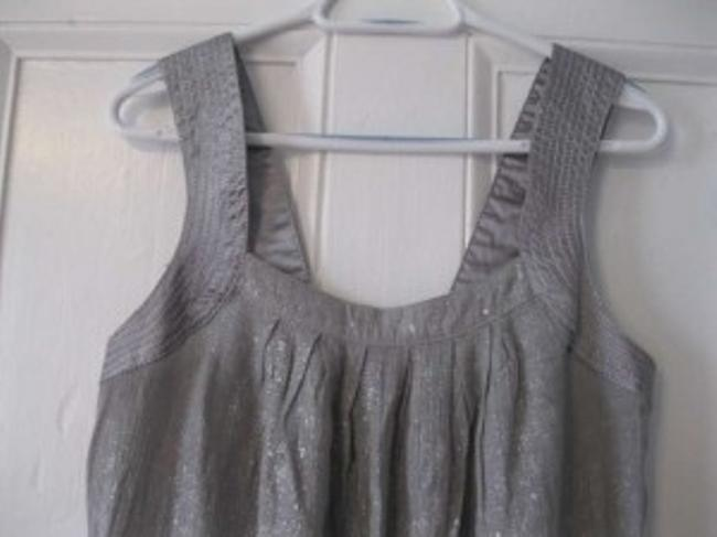 Forever 21 short dress Silver Metallic Sundress Party on Tradesy