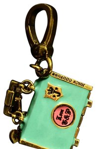 Juicy Couture Vintage Luggage Charm Hangtag That Opens
