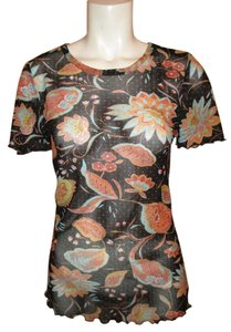 Karen Kane T Shirt black multi color