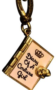 Juicy Couture Diary Of A Couture Girl Charm. Opens!
