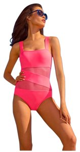 DKNY Mesh maillot suit