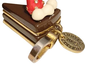 Juicy Couture Vintage Rare Limited Edition Chocolate Cake Slice Charm