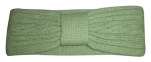 Newport News 100% Cashmere Winter Ski Headband Light Green Newport News