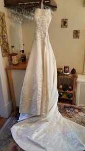Oleg Cassini 4xlct131 Ivory Wedding Dress