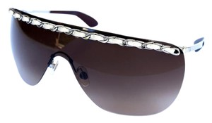 Chanel Large CHANEL Wrap Sunglasses with Leather