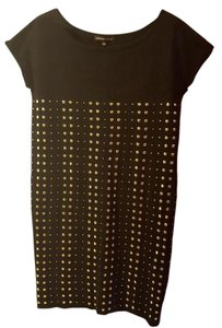 Adrienne Vittadini Tshirt Studded Dress