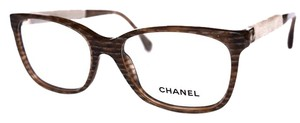 Chanel Marble Havana Eyeglasses with CHANEL case