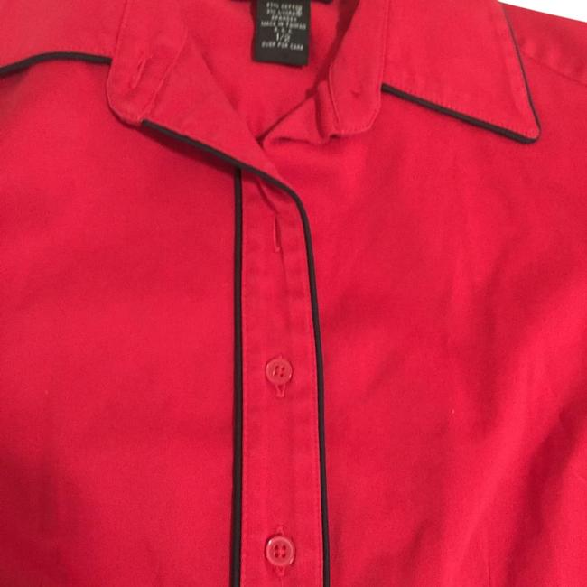 Express Red Mid-length Work/Office Dress Size 2 (XS) Express Red Mid-length Work/Office Dress Size 2 (XS) Image 1