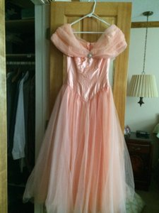 Peach Don't Know Dress