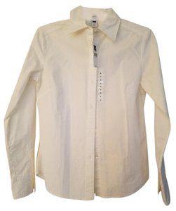 Gap Classic Button Down Shirt white
