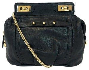 Be&D Myles Leather Gold Chain Cross Body Bag