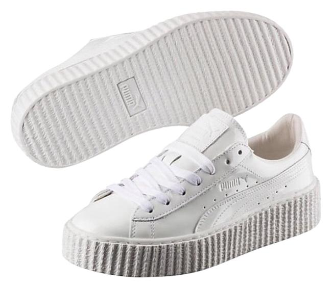 Item - White Glo Creepers Sneakers Size US 9.5 Regular (M, B)
