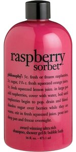 Other Philosophy Body Wash 3 in 1 Raspberry Sorbet 16 fl. oz