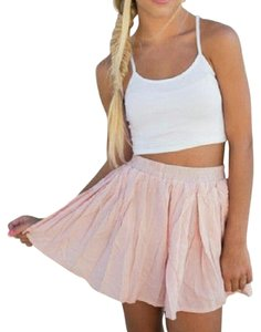 Brandy Melville Mini Skirt Pink