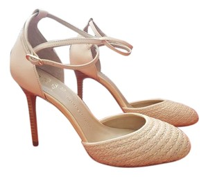 Banana Republic Leather Nude Pumps