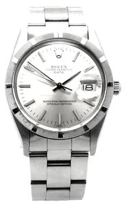 Rolex Stainless Steel Oyster Perpetual Date 15210 Watch