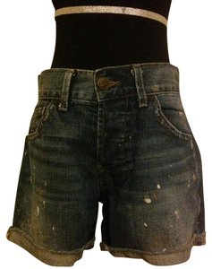 William Rast Cuffed Shorts Denim