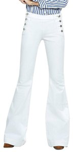 Express Sailor Long Plus Size Flare Leg Jeans