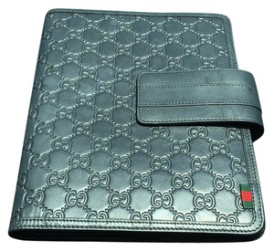 Gucci Leather iPad Case With Foldover