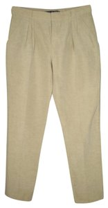 Theory Linen Silk Ankle Pants