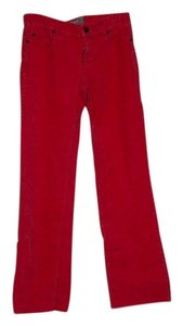 J.Crew Boot Cut Pants pomegranite