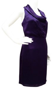 The Limited short dress Purple Sleeveless 3270462 Sheath on Tradesy