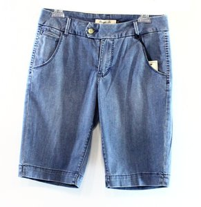 Christopher Blue Bermuda Cotton-blends New With Tags 3068-0398 Shorts