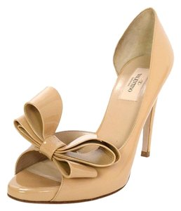 Valentino D'orsay Open Toe Pumps
