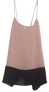 Bar III Top Light Pink, Black