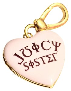 Juicy Couture Sorority Sister Locket Charm That Opens