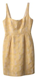 Cynthia Steffe short dress Yellow on Tradesy