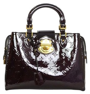 Louis Vuitton Patent Leather Monogram Tote